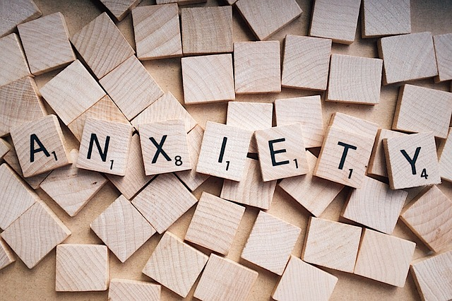 anxiety - word