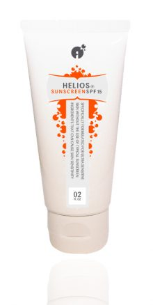 Helios Natural Sunscreen by Reverta for sensitive skin