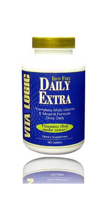 Daily-Extra No Iron by Vitalogic Vitamins
