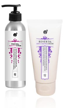 Anti-Aging Power kit to fight wrinkles for normal to dry skin.