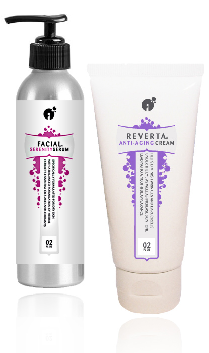 Reverta Anti-Aging Power Kit for normal to dry skin