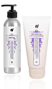 Anti-Aging Power Kit for oily and normal skin.